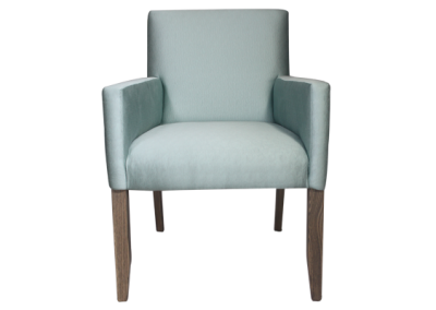 The square dining chair