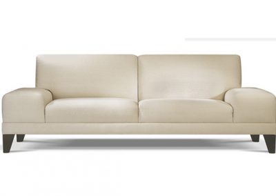 The solid base wide arm couch