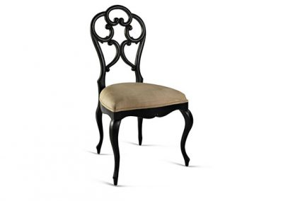 The ornate dining chair