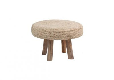 Ganesh stool natural